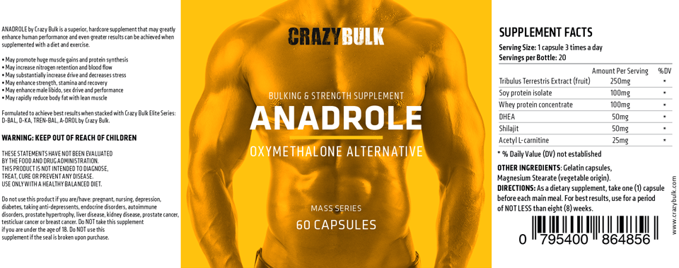 anadrole-ingredients